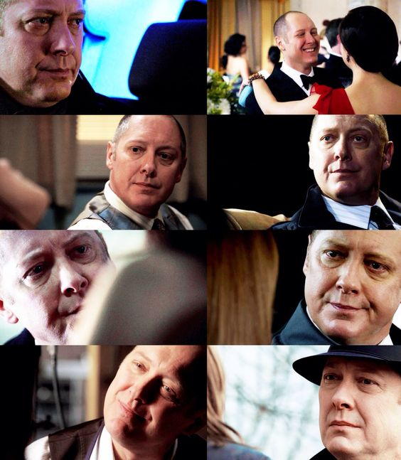 James Spader. Red always has at least a hint of pain in his eyes when looking at Liz. :(