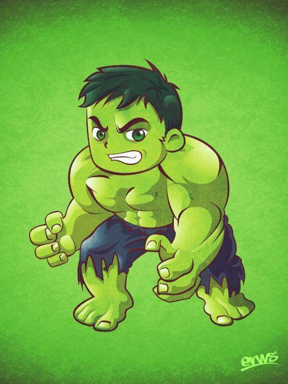 Hulk Wallpaper 96 Kartun Animasi Pahlawan Super