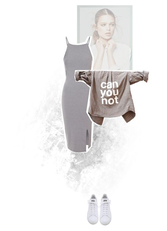 """#21."" by moonyeid on Polyvore featuring adidas and Glamorous"
