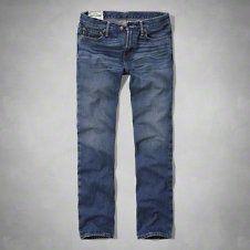 boys a&f slim straight jeans