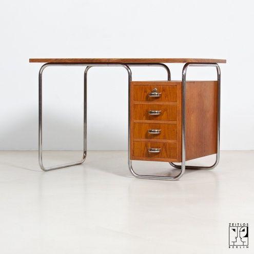 Original Bauhaus Desk 1800 Bauhaus Furniture Bauhaus Interior Bauhaus Design
