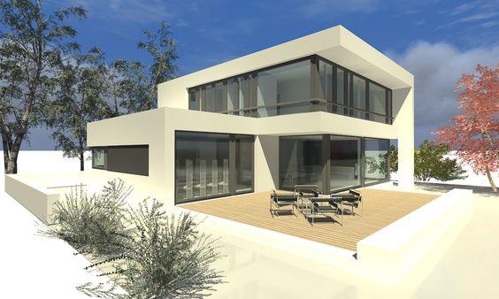 Architektur | Der a2 L-cube: ein Einfamilienhaus in moderner Architektur. Fixpunkt ...