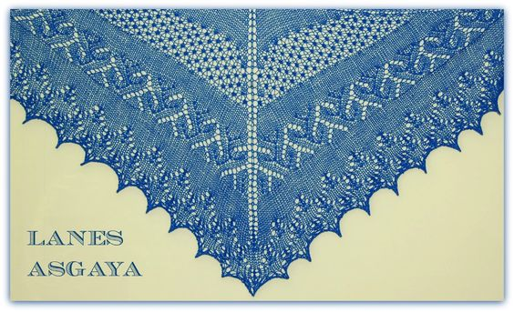 lanes asgaya: SPRING FESTIVAL SHAWL