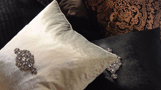 Exotic Opulence Pillows by KOKET bykoket.com/... KOKET   Love Happens