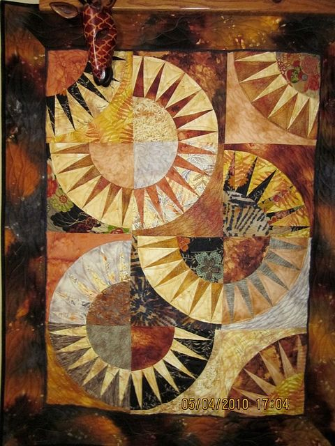 New York Beauty by nancy lou quilts, via Flickr