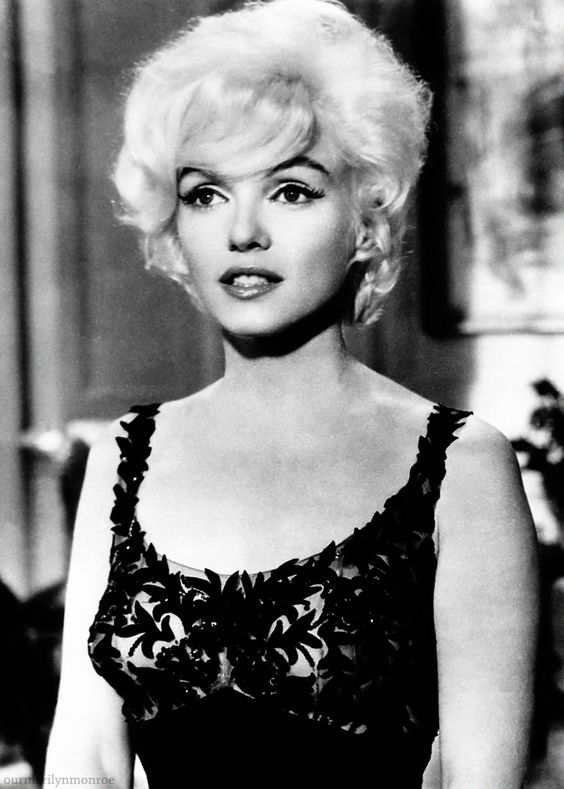 Marilyn Monroe during screen tests for Something's Got To Give, 1962.