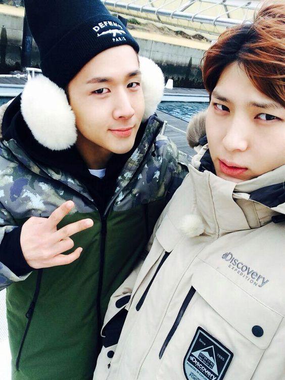 Vixx: Ravi and Leo. ❤ [K-pop]
