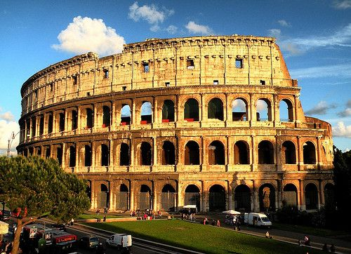 Famous Buildings Rome Big Cities And Beautiful Places