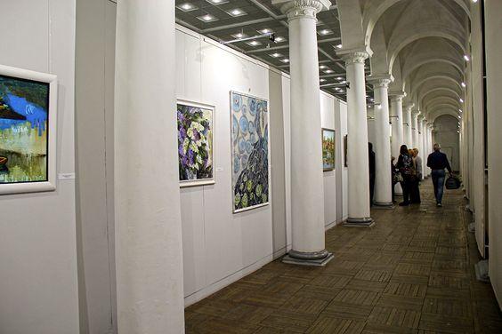 На выставке в Музее изобразительных искусств. Фото Жени Шведы