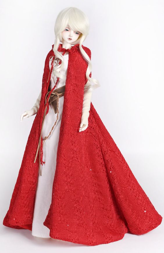 PeaksWoods - YOSD FOF DRESS PEAKSWOODS peakswoods dress peakswood A.B./FOC Red Riding Hood