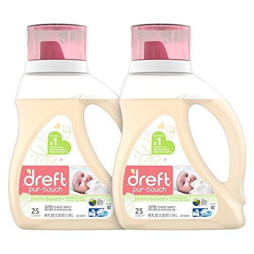 Amazon S S Deal Dreft Purtouch Baby Liquid Laundry Detergent 40