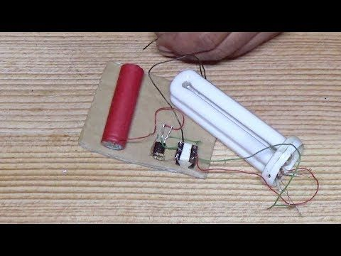 Cfl Lamp On Dc 3 Volt Without Kit Mini Inverter Youtube Diy Electronics Fun Diy Crafts Joule Thief
