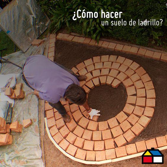 C mo hacer un suelo de ladrillo sodimac homecenter - Como hacer un suelo de hormigon ...