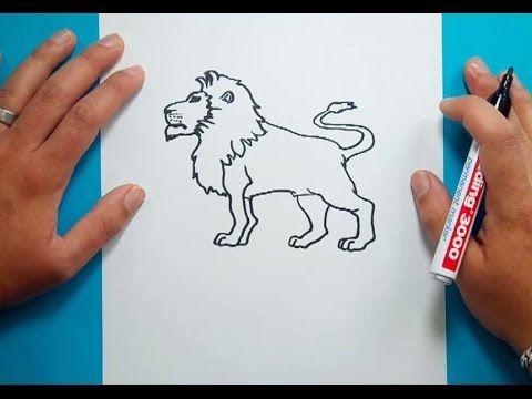 Como Dibujar Un Leon Paso A Paso 4 How To Draw A Lion 4 Como Dibujar Facil Como Dibujar Dibujos De Leones