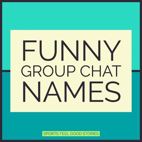 Funny Group Chat Names To Make You Laugh Like Your Friends Do Chat Friends Funny Group Laugh Group Chat Names Funny Group Chat Names Group Names Funny