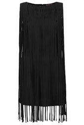 **Robe à longues franges Kate Moss pour Topshop