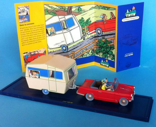 voiture tintin car atlas n 28 29 triumph herald caravane. Black Bedroom Furniture Sets. Home Design Ideas