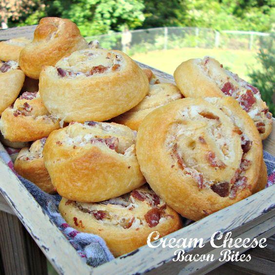 Cream Cheese Bacon Bites | Recipe | Cream Cheeses, Bacon and Cheese