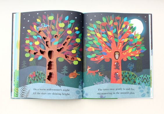 Tree: Seasons Come, Seasons Go by Britta Teckentrup