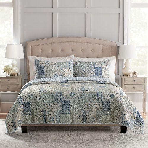 Croft Barrow Sarah Quilt Or Sham Quilt Bedding Quilts Queen