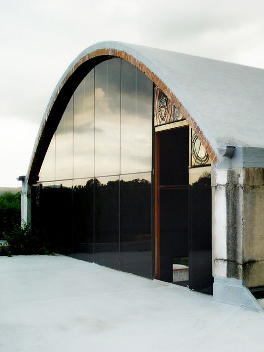 House visser situated in meintjies kop the house is a for Barrel vault roof