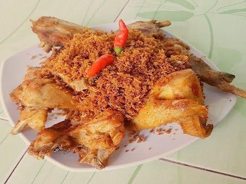 Resep Ayam Goreng Serundeng Kelapa Youtube Resep Ayam Ayam Goreng Kelapa