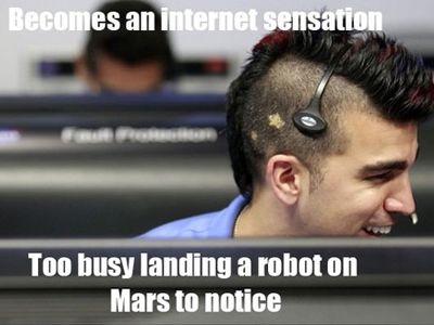 NASA's Mohawk Guy
