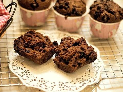Resep Muffin Coklat Super Nyoklat No Mixer Hasil Tinggi Menjulang Alias High Dome Xd Oleh Tintin Rayner Resep Makanan Muffin Aneka Kue