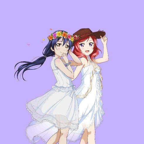 Sonoda umi y nishikino maki | Love Live School Idol Project.