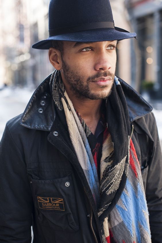 articlesofstyle | Patterned Scarves feat. Marcus Allen | Articles of Style