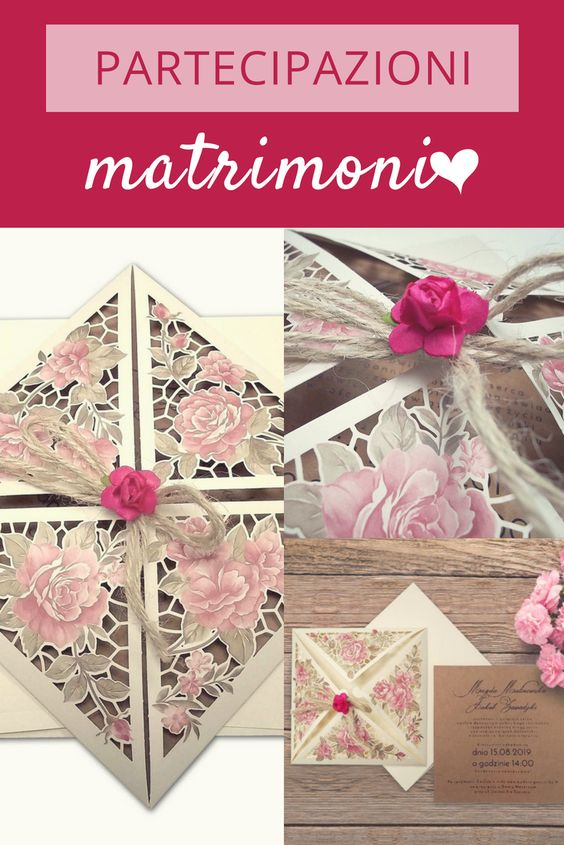 I tuoi inviti parlano per te e del tuo matrimonio. Questi in cartoncino, color avorio, adornati con rose, sono ideali per un matrimonio rural chic o a tema . E sono adatti a tutte le stagioni! ^_^ #weddingtime #invitations #eBay4Wedding