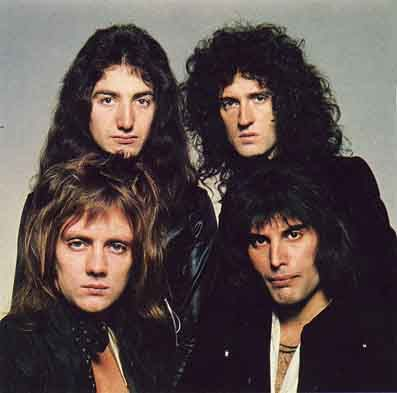 Queen was a glam rock/heavy metal band that started out in 1971 after guitarist Brian May and drummer Roger Taylor, who together had been in several bands, decided to form yet another one and joined up with vocalist and some time piano player Freddie Mercury.