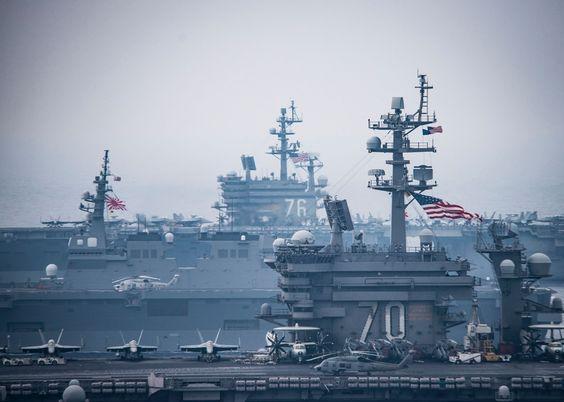 米空母打撃群と海上自衛隊