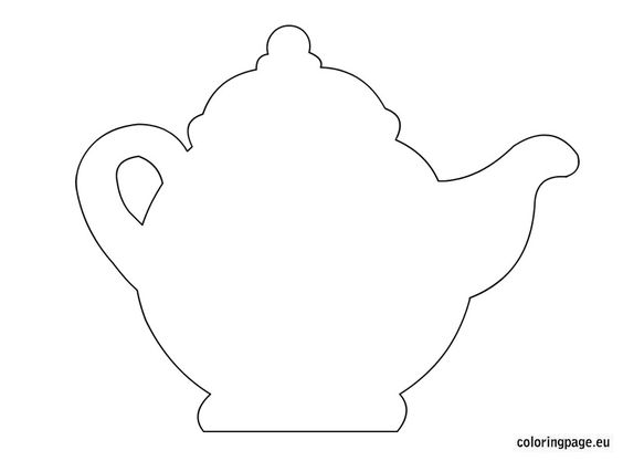39 awesome teapot template free images tea party pinterest awesome mothers and patterns. Black Bedroom Furniture Sets. Home Design Ideas