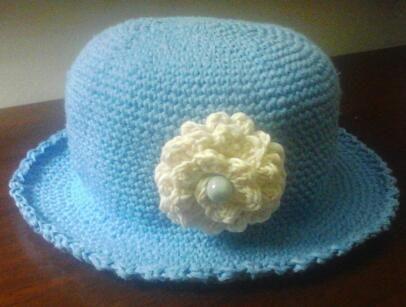 sombrero para las princesitas de la casa