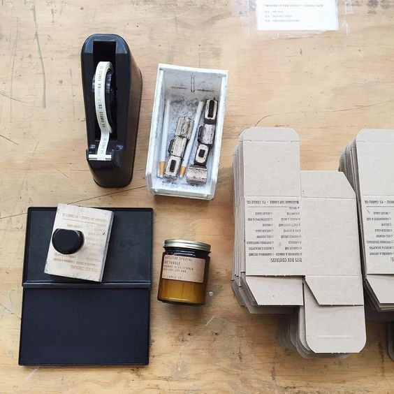 Tools of the Trade // P.F. Candle Co.