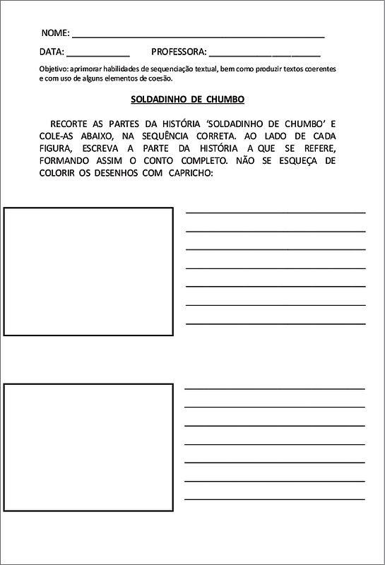 3 Jpg 545 800 Elementos De Coesao Soldadinho De Chumbo Textos