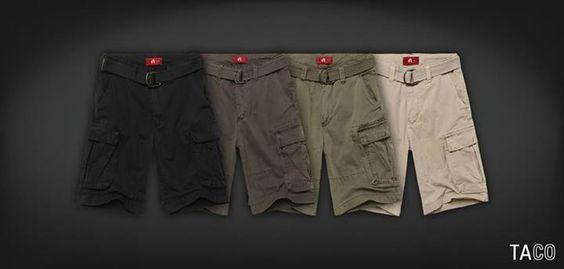 O novo modelo de bermuda cargo com cinto e bolso nas laterais já está disponível em todas as lojas e no e-commerce.