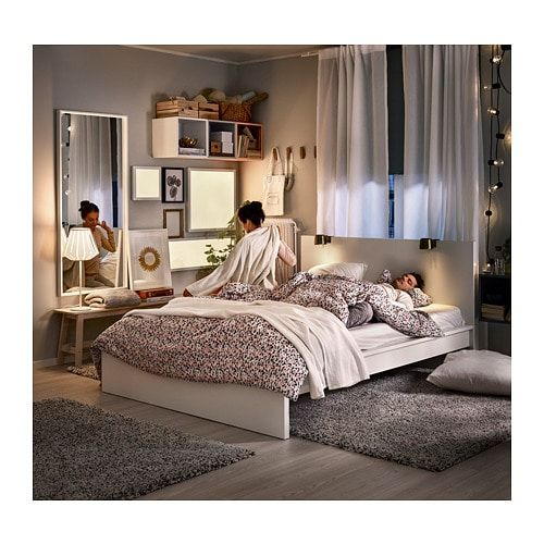 Malm Bedonderstel Hoog Wit 160x200 Cm Ikea In 2020 Malm Bed Malm Bed Frame White Ikea Bed