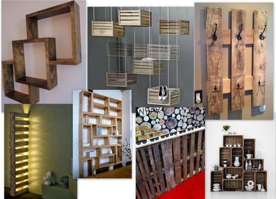 Como decorar una tienda con palets tienda pinterest - Decorar con palets ...