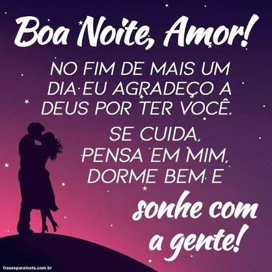 Pin De Gislene Em Romanticas Frases Boa Noite Amor Boa Noite