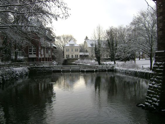 Lüdinghausen under the snow #Luedinghausen #NRW #Germany