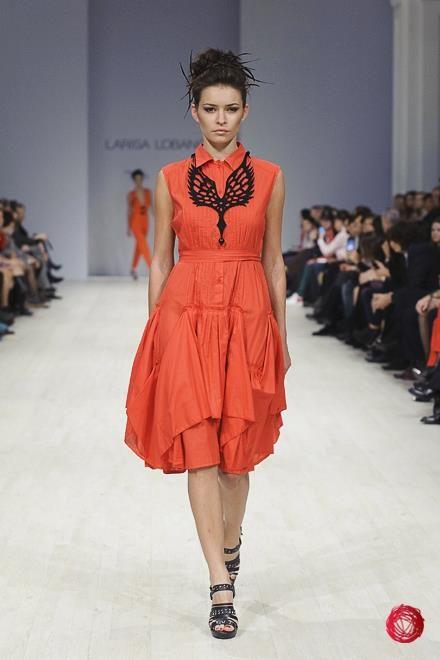 Ukranian Fashion Week: Larisa Lobanova S/S 2013 Collection