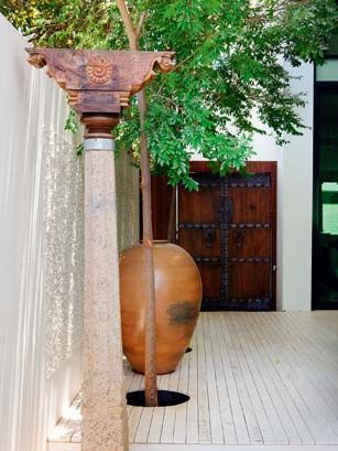 A beautiful entryway.