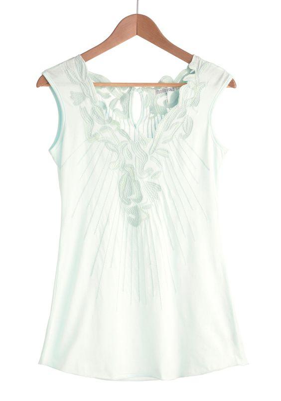 Peppermint Tea Top | Mod Retro Vintage Short Sleeve Shirts | ModCloth.com