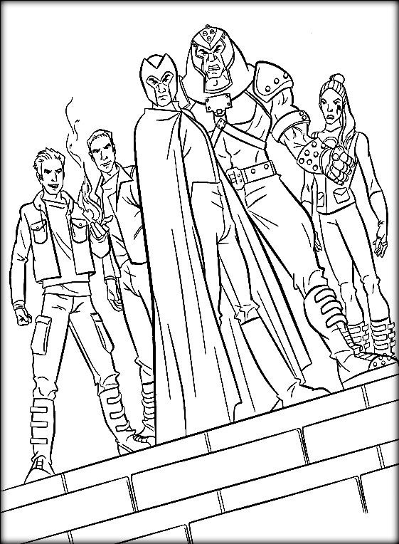 X Men Coloring Pages Coloring Books Coloring Pages Superhero Coloring
