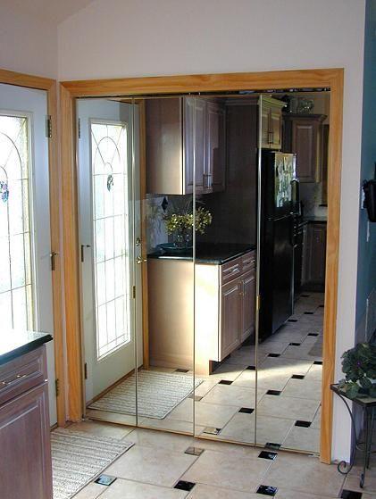 Bi Fold Quot Closet Door Quot Mirrored Sliding Closet Doors New