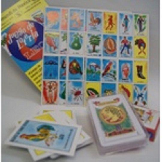 Loteria Mexicana y Baraja Espanola, Mexican Bingo and Spanish Deck Playing Card  #CartaMundideMexico