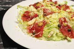 Salada de Carpaccio | Blog Figos & Funghis