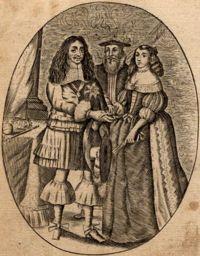 Casamento de Carlos II de Inglaterra e de D. Catarina de Bragança, acto de consolidação da aliança luso-inglesa.(Pedro II de Portugal – Wikipédia).